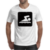 Swimming Mens T-Shirt