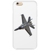 Swiss Air Force F-18 Jet Phone Case