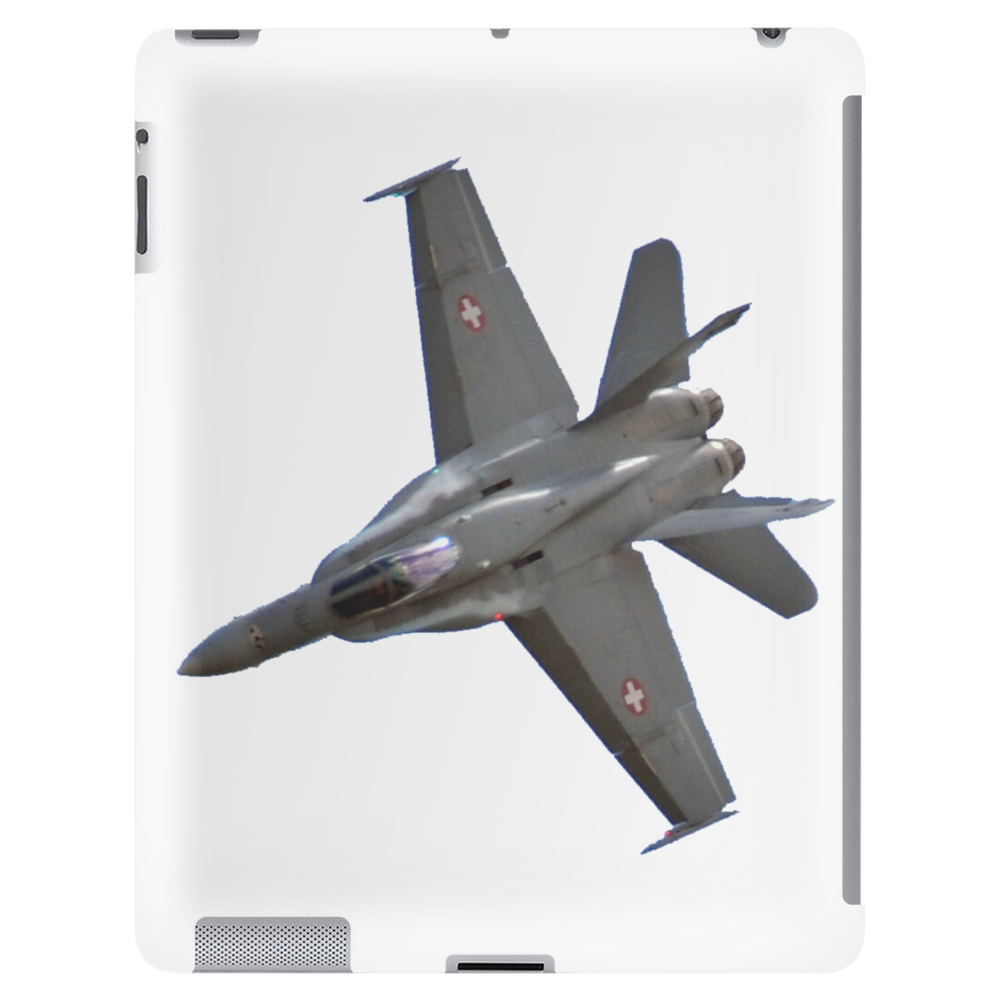 Swiss Air Force F-18 Jet Tablet