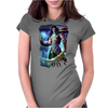 sword man Womens Fitted T-Shirt