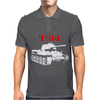 T-34 Soviet Russin World War II Tank Mens Polo