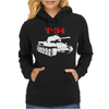 T-34 Soviet Russin World War II Tank Womens Hoodie