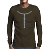 T Diamond Necklace Mens Long Sleeve T-Shirt