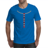 T Diamond Necklace with Rubies Mens T-Shirt