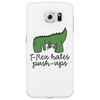 T-Rex hates push-ups Phone Case