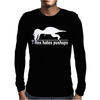 T-Rex Hates Pushups funny Mens Long Sleeve T-Shirt