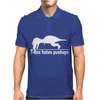 T-Rex Hates Pushups funny Mens Polo