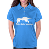 T-Rex Hates Pushups funny Womens Polo