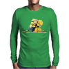T-shirt girl MINION BANANA CHIQUITA cattivissimo me MAGLIETTA anvil Mens Long Sleeve T-Shirt