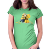T-shirt girl MINION BANANA CHIQUITA cattivissimo me MAGLIETTA anvil Womens Fitted T-Shirt