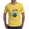 T-SHIRT MINIONS CATTIVISSIMO ME  BIANCO THE HAPPINESS IS HAVE MY T-SHIRT NEW Mens T-Shirt