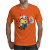 T-SHIRT UOMO MINIONS POMPIERE CATTIVISSIMO ME 2 CARTOON IDEA REGALO Mens T-Shirt