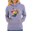 T-SHIRT UOMO MINIONS POMPIERE CATTIVISSIMO ME 2 CARTOON IDEA REGALO Womens Hoodie