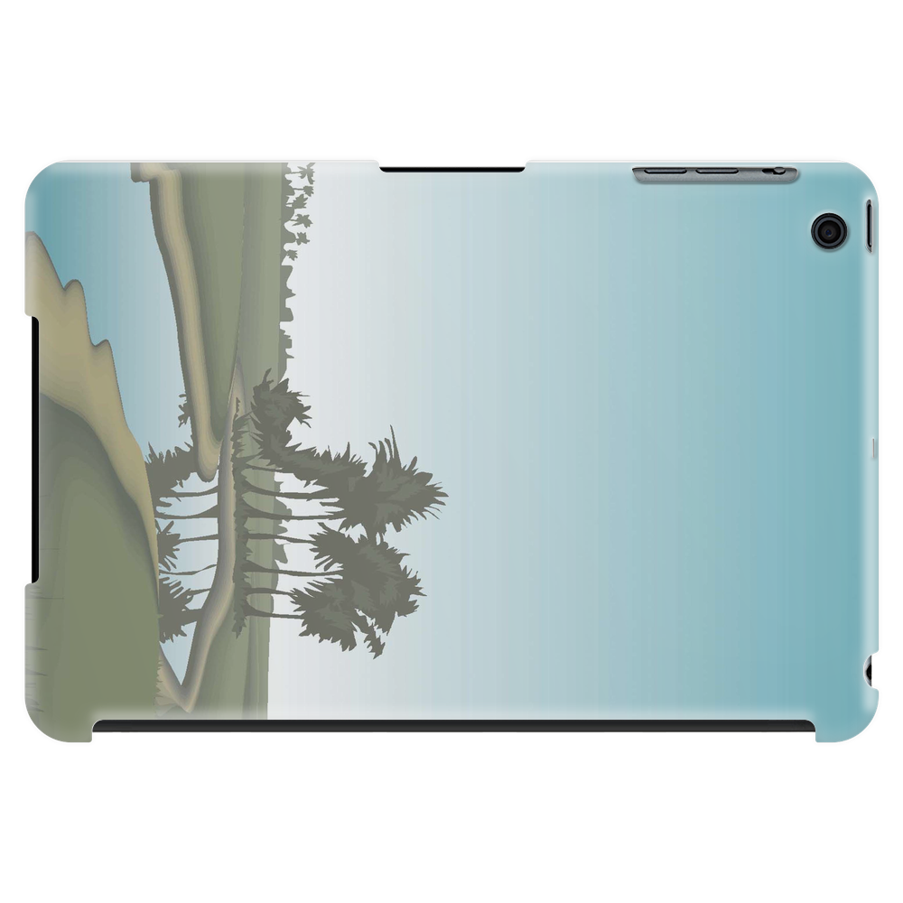 tablet case with a view of the water flowing motif Tablet (horizontal)
