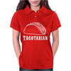 Tacotarian Womens Polo