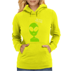 Take Me To Your Leader Alien Womens Hoodie