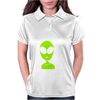 Take Me To Your Leader Alien Womens Polo