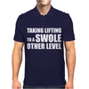 Taking Lifting To A Swole Other Level Mens Polo