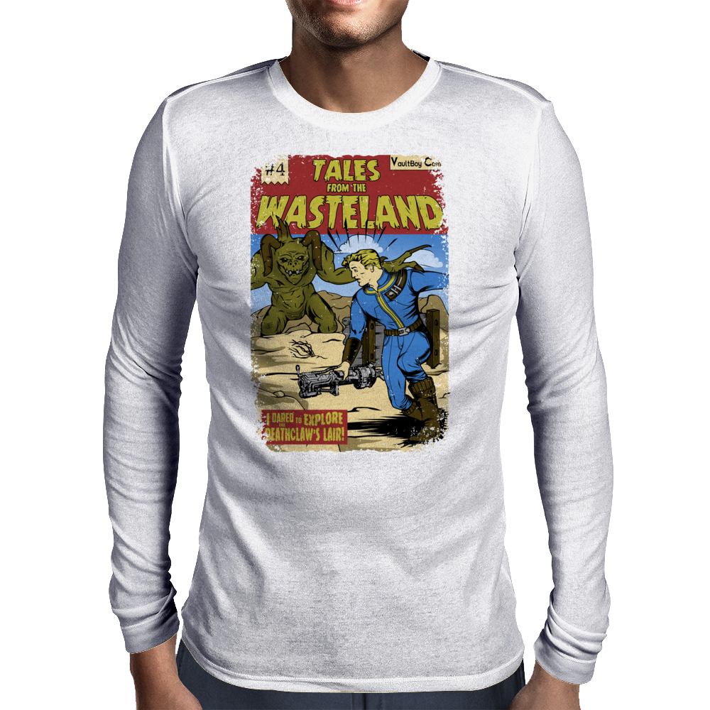Tales from the Wasteland Mens Long Sleeve T-Shirt