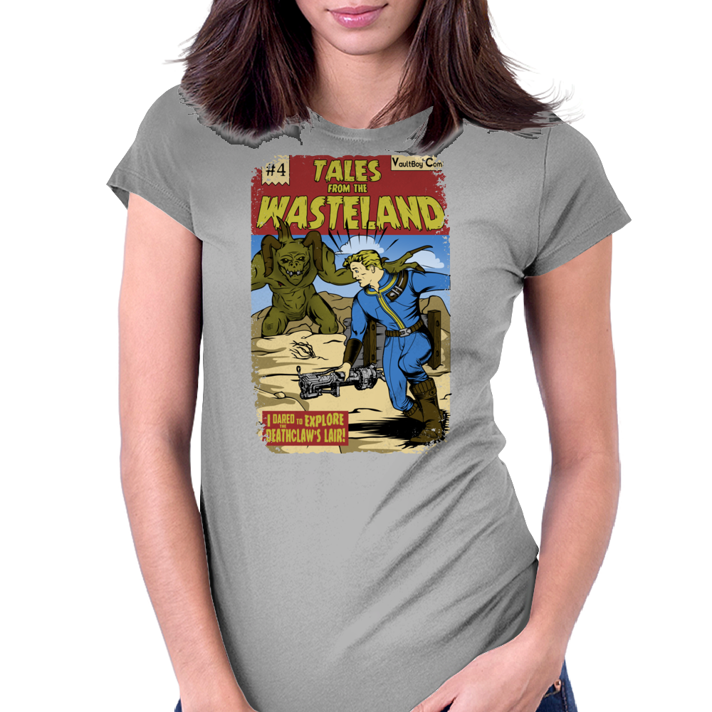 Tales from the Wasteland Womens Fitted T-Shirt