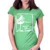 Talk To The Hoof Womens Fitted T-Shirt