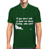 Talk To Your Cat About Cat Nip Mens Polo