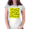 TALK Womens Fitted T-Shirt