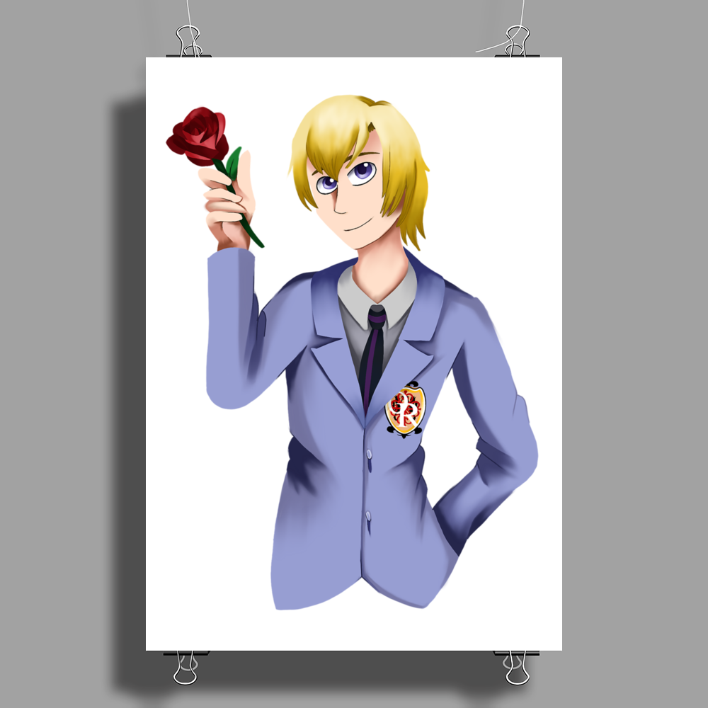Tamaki - Ouran high school host club Poster Print (Portrait)