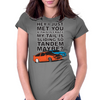 Tandem Maybe? Womens Fitted T-Shirt