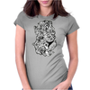 Tangled Womens Fitted T-Shirt