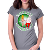TAPIN DE NOEL Womens Fitted T-Shirt