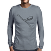 Taping cord illustration Mens Long Sleeve T-Shirt