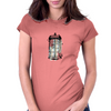 tardis 2 Womens Fitted T-Shirt