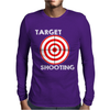 Target Shooting Mens Long Sleeve T-Shirt
