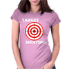 Target Shooting Womens Fitted T-Shirt