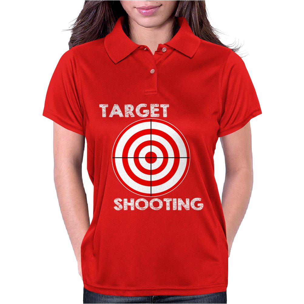 Target Shooting Womens Polo