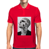 Tattoo Smoke Sigaretta Skull Mens Polo