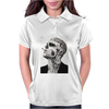Tattoo Smoke Sigaretta Skull Womens Polo