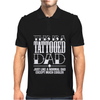 Tattooed Dad Mens Polo