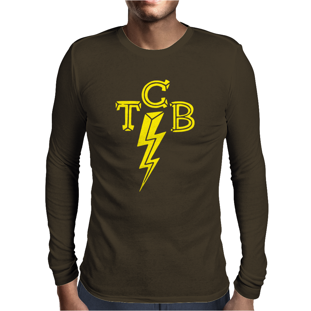 TCB Classic Rock Rockabilly Mens Long Sleeve T-Shirt