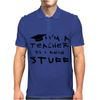 Teachers know stuff Mens Polo