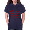 Teachers know stuff - red Womens Polo