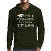 Teachers know stuff - wht Mens Hoodie