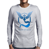 Team Blue Mystic Pokemon Go Articuno Mens Long Sleeve T-Shirt