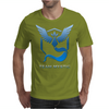 Team Blue Mystic Pokemon Go Articuno Mens T-Shirt
