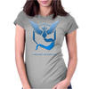 Team Blue Mystic Pokemon Go Articuno Womens Fitted T-Shirt