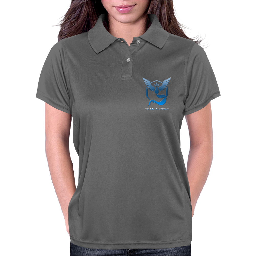 Team Blue Mystic Pokemon Go Articuno Womens Polo