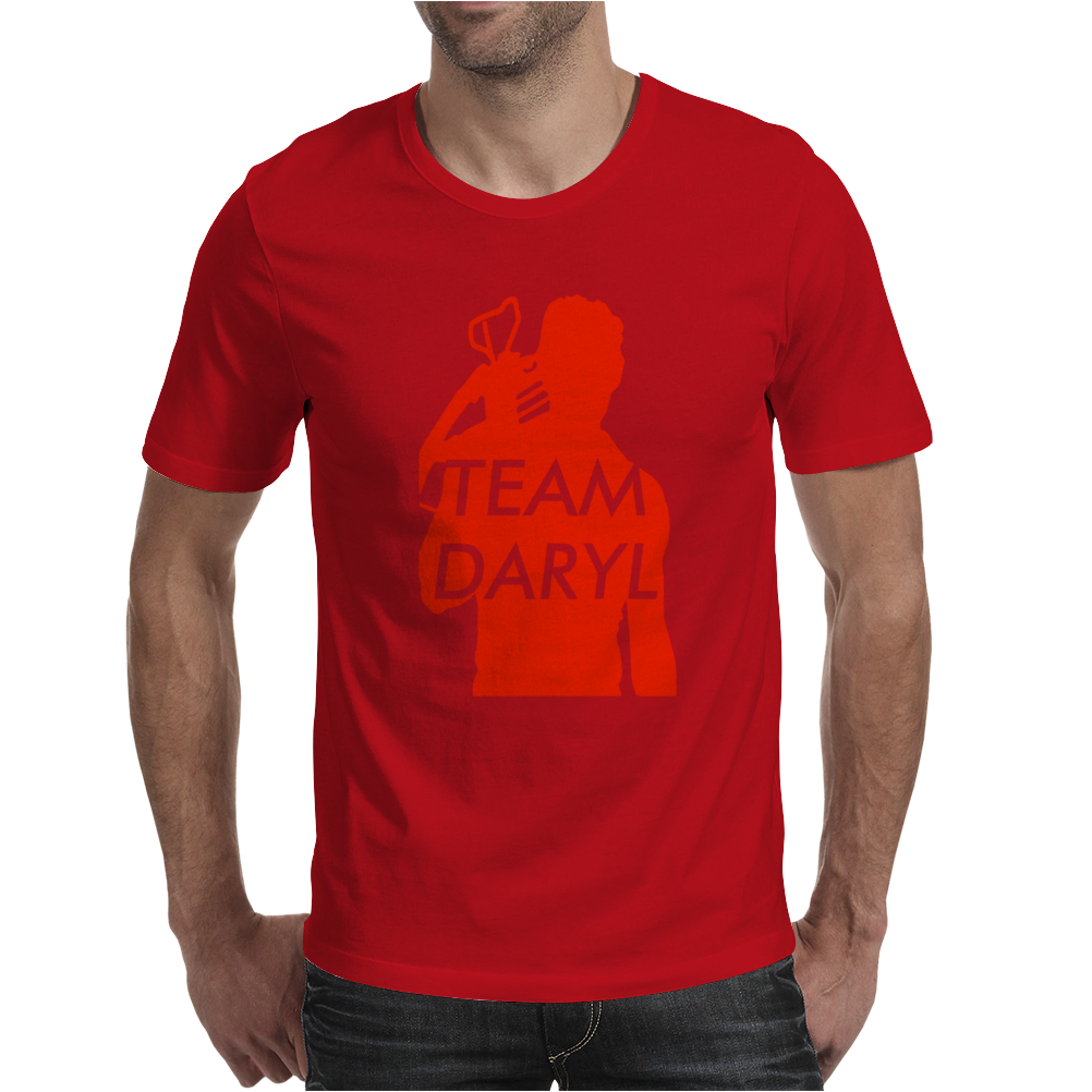Team Daryl Walking Dead Mens T-Shirt