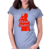Team Daryl Walking Dead Womens Fitted T-Shirt