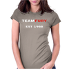 TEAM FURY Womens Fitted T-Shirt